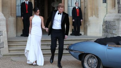 Meghan Markle only has eyes for Prince Harry
