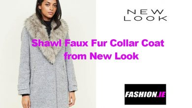 Latest fashion Faux Fur Collar Coat from New Look
