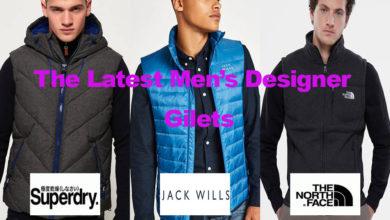 The Latest in Men's Designer Gilets for under €95
