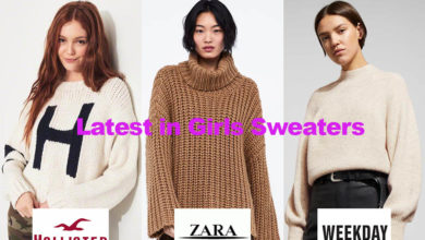 The latest in girls sweater design fashion