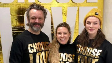 Aisling Bea and Michael Sheen go Instagram official