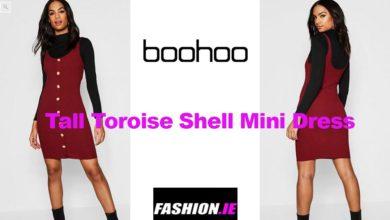 Latest fashion Button micro mini dress from Boohoo