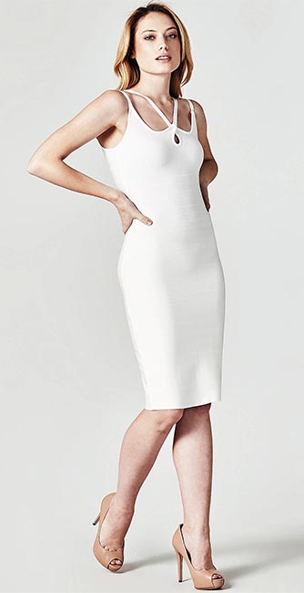 Marciano Strappy Bandage Dress from Guess
