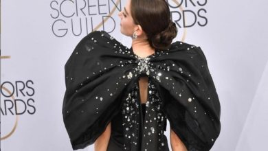 Alison Brie's dress concerns at the Screen Actors Guild Awards 2019