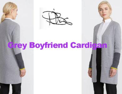 Boyfriend Cardigan from designer Peter O'Brien