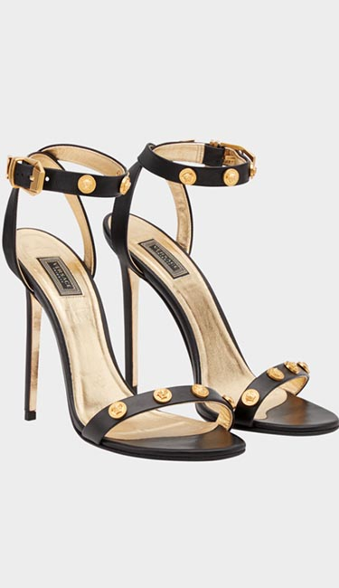 Tribute Leather Sandals from Versace