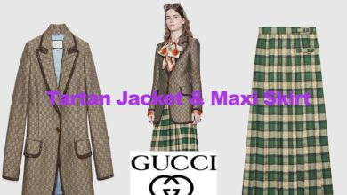 Latest fashion woollen canvas jacket and skirt
