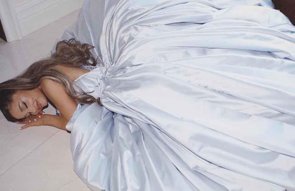 Ariana Grande's Grammy gown designed by Zac Posen