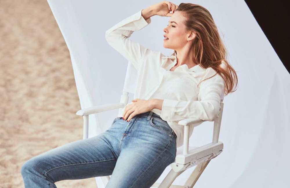 Behati Prinsloo chosen as new face of 7 For All Mankind