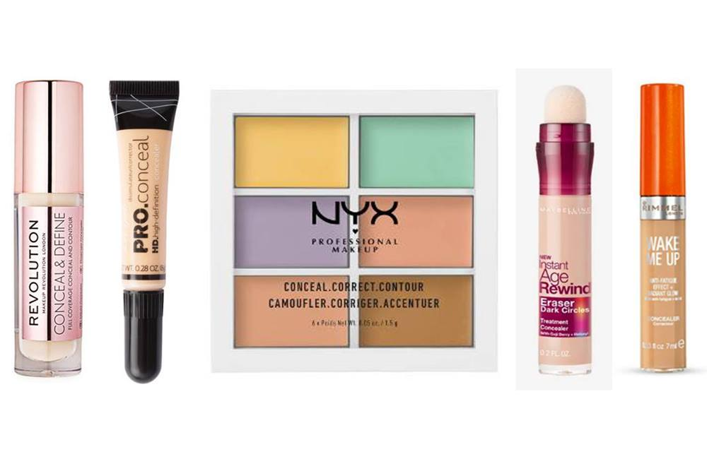 Best Full Coverage Concealers For Under €15