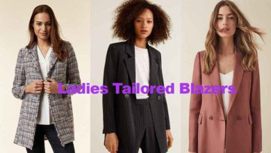 Fashion review latest ladies tailored blazers