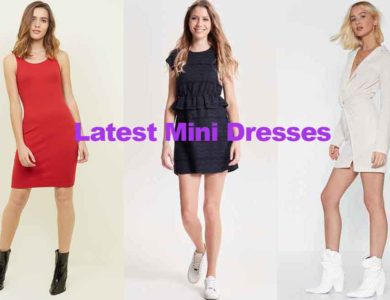 Fashion review latest new teenage mini dresses