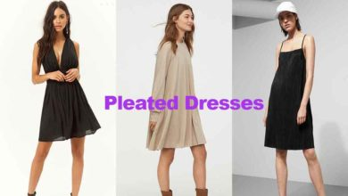 Fashion review latest in pleated dresses