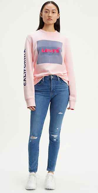 Ladies 721 High Rise Skinny Jeans from Levi