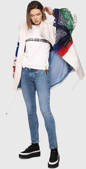 Ladies Livier Super Skinny Jeans from Diesel