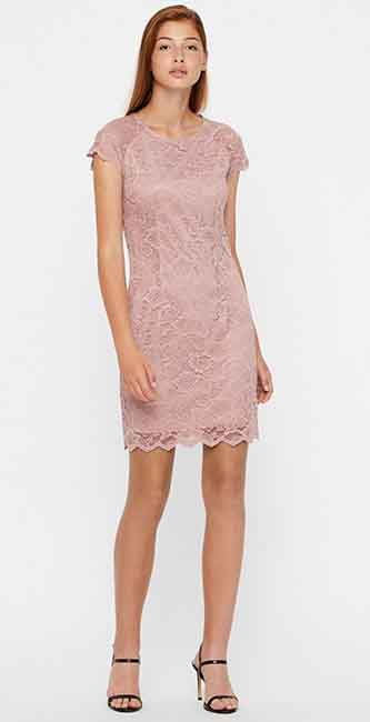 Ladies detailed Lace Dress from Vero Moda