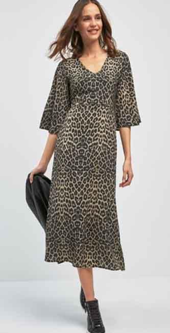 Print Midi Dress from Next