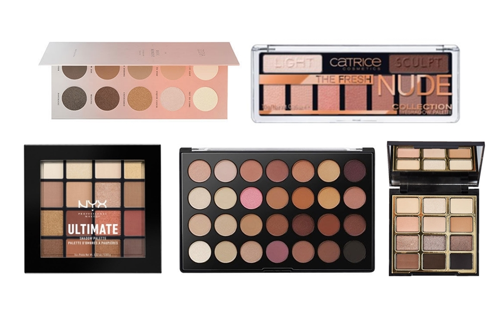 The Best Neutral Eyeshadow Palettes For €25 Or Less