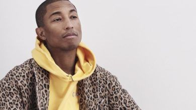Pharrell Williams on working with Karl Lagerfeld